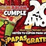 Promoción Chilim Balam Día de las papas gratis: Regístrate y obtén papas gratis este 15 de noviembre