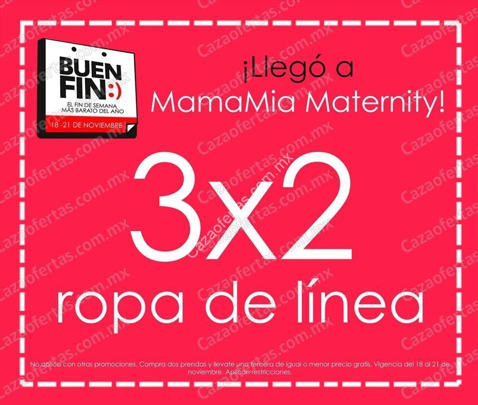 381f5df0db87 Ofertas Mama Mia el Buen Fin 2016: 3×2 en ropa de maternidad y 30 ...