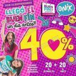 Ofertas Onix el Buen Fin 2016: 20% de descuento + 20% en puntos VIG + meses sin intereses