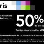 En Volaris 50% de descuento en viajes nacionales e internacionales este 23 y 24 de noviembre