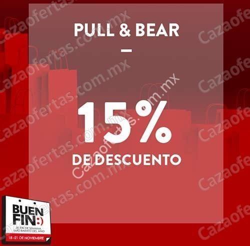 92ab96a3 Ofertas Pull & Bear el Buen Fin 2016: 15% de descuento