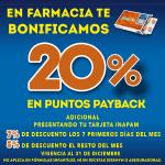 En Farmacia de Comercial Mexicana 20% de bonificación en puntos Payback