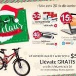 Promociones Office Depot Cyber Claus 22 de diciembre: Bicicleta rodada 26 GRATIS en compras online superiores a $5,999
