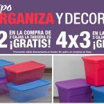 Expo Organiza en Home Depot: 3×2 y 4×3 en cajas contenedoras