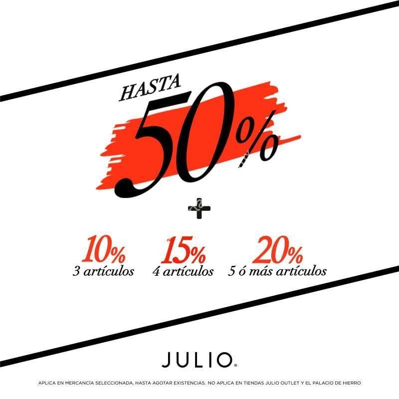 0bacd33e12 En Julio Rebajas de Temporada  hasta 50% de descuento + hasta 20% adicional