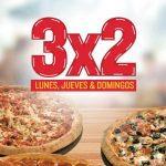 Promoción Papa Johns Navidad: 3×2 en pizzas los lunes, jueves y domingos