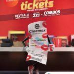 Promoción Ticketízate Cinemex 2017: Boletos al 2×1, combos a precio especial y más en tu ticket