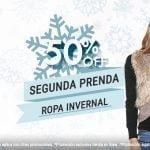 En Promoda 50% de descuento en la segunda prenda invernal