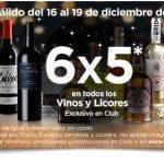 En Sams Club 6×5 en vinos y licores del 16 al 19 de noviembre