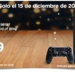 En Sams Club Regalos de Navidad 15 de diciembre: consola PS4 500 gb + videojuego a $5,999