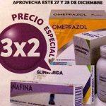 En Soriana 3×2 en medicamentos genéricos Nodrim