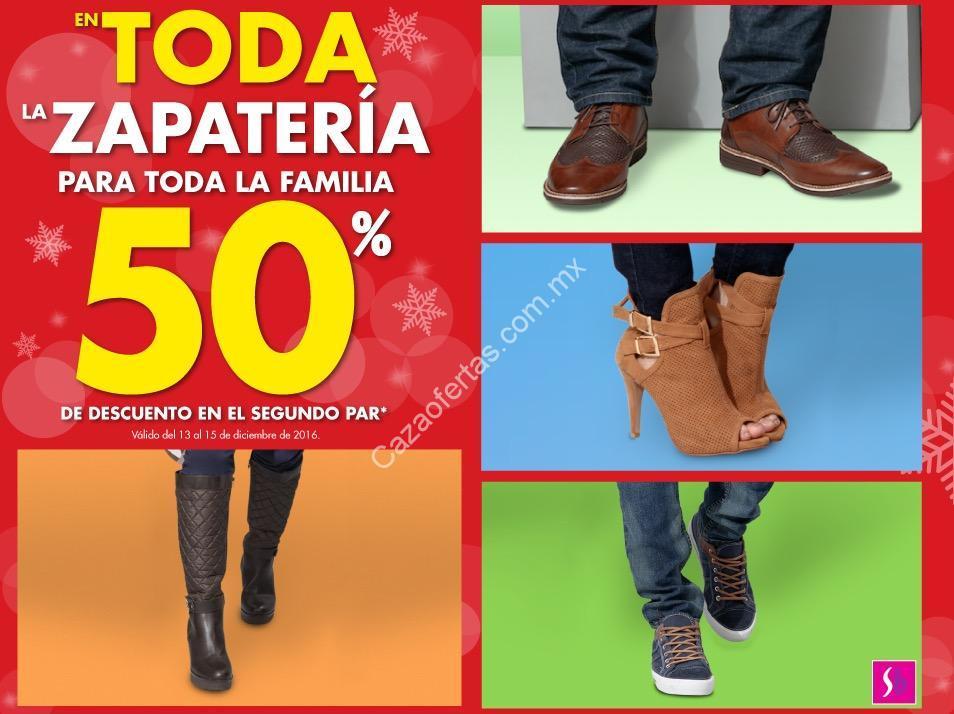 e680fb7fb245a Promoción Suburbia zapatería  50% de descuento en el segundo par de zapatos