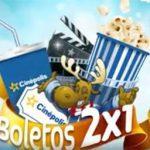 Promoción Telcel Cinépolis: boletos 2×1 al hacer una recarga de $50