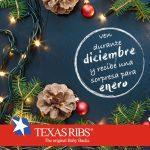 Promoción Navidad Texas Ribs: cupones del 10% al 100% de descuento para tu siguiente compra