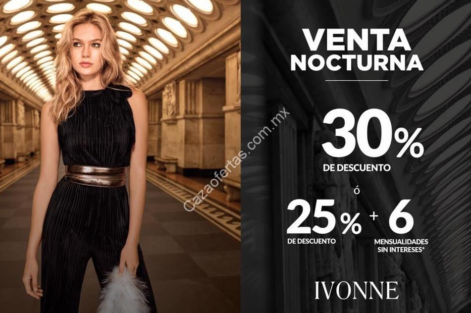 Venta Nocturna Ivonne 9 Y 10 De Diciembre 30 De Descuento