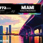 Vuelo redondo a Miami desde $4,772 + 12 meses sin intereses en Mundo Joven sólo hoy