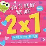 Promoción de 2×1 en tiendas Onix