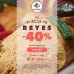 40% de descuento en roscas de reyes de El Globo pidiendo por Rappi