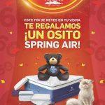 Liquidación Total Atlas: osito de peluche Spring Air GRATIS por Día de Reyes