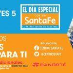 Día Especial Centro Santa Fe 5 de enero 2017: promociones y meses sin intereses en todo el centro comercial