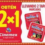 Promoción Cinemex Danonino: 2×1 en boletos llevando 2 tapas
