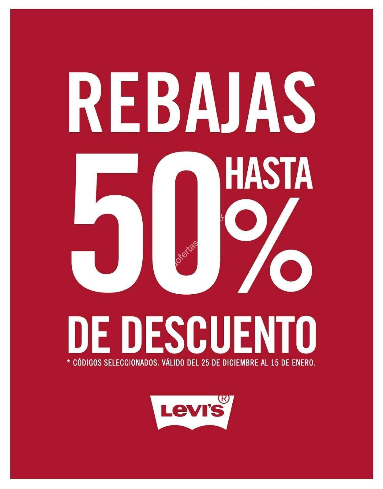 196b88becc080 En Levis rebajas de temporada de hasta 50% de descuento en códigos  seleccionados