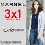 Rebajas Marsel: ahora 3×1 en toda la tienda y hasta 12 meses sin intereses