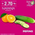 Ofertas Miércoles de Plaza de La Comer 11 de enero: naranja, papaya y lechuga con descuento