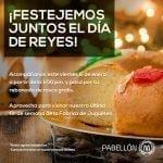 Rosca de Reyes GRATIS este 6 de enero en Pabellón M (Monterrey, NL)