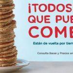 Promoción IHOP pancakes ilimitados: Todos los pancakes que puedas comer por $49