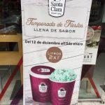 2×1 en litros de helado en Santa Clara hasta el 15 de enero