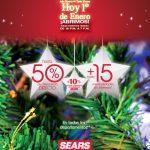 Promoción Año Nuevo Sears 1 de enero 2017: Hasta 50% de descuento directo + hasta 15 meses sin intereses