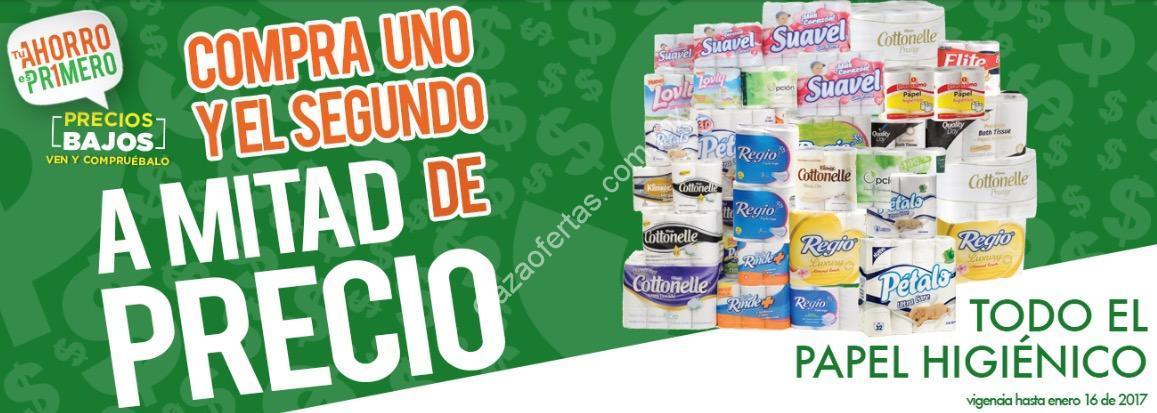 Promoción Comercial Mexicana segundo a mitad de precio en
