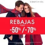 Rebajas Cortefiel: Toda la tienda con descuentos del 50% y 70%