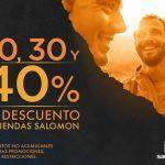 Rebajas Salomon del 20% al 40% de descuento en artículos seleccionados