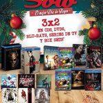 En Sanborns 3×2 en películas, series de TV y CDs de música