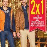 Rebajas de temporada Sears: 2×1 en departamento de ropa casual para hombres