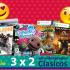 En Compudabo 3×2 en videojuegos clásicos de PS3 y Xbox 360