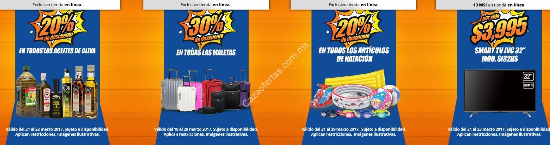 Especiales tienda en línea Chedraui  Descuento en maletas ... 34fbdcb6397