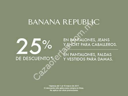 En Liverpool 25 De Descuento En Ropa Banana Republic