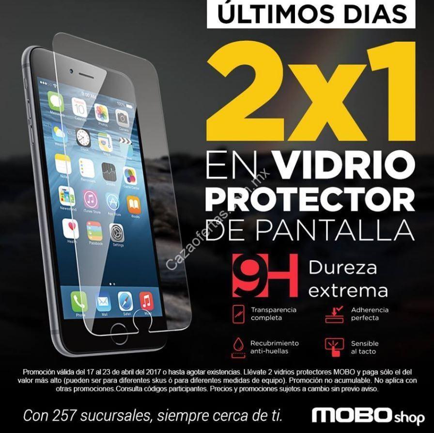 2 1 en vidrio protector de pantalla para celular en mobo for Protector de pantalla para movil