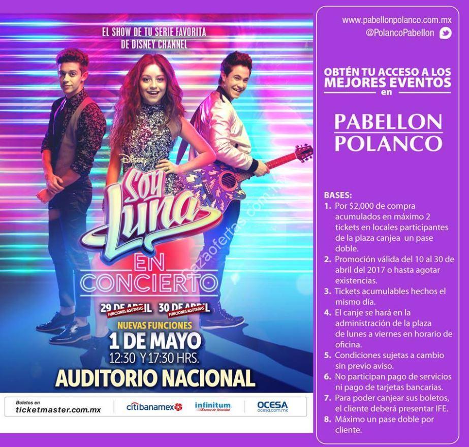 Boletos gratis para el concierto de Soy Luna con tus