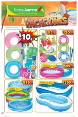 folleto de ofertas bodega aurrer vacaciones semana santa
