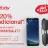 Cupón eBay Hot Sale 2017: 20% de descuento en todo el sitio
