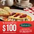 En Italiannis Buenavista $100 de descuento en desayunos los sábados y domingos