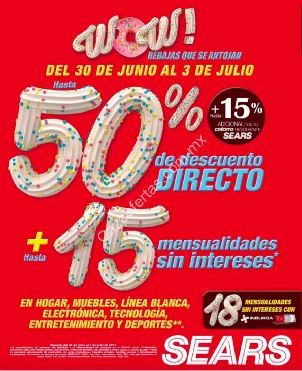 Rebajas wow sears de hasta 50 de descuento 15 msi en - Electronica del hogar ...