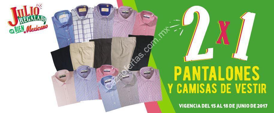 6e4d5bd343 Imagen de la promo: Ofertas Julio Regalado 2017: 2x1 en pantalones y camisas  de