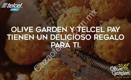 Promoci N Telcel Pay Olive Garden Risotto Bites Gratis