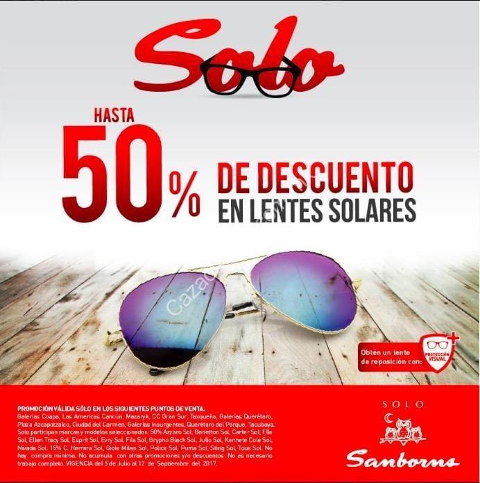 zapatos para correr mas fiable gran descuento para En Sanborns hasta 50% de descuento en lentes de sol