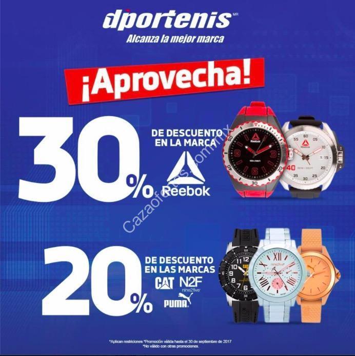 61b4de223702 En Dportenis hasta 30% de descuento en relojes